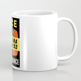 1958 Air France Nice Riviera Express Airline Poster Coffee Mug
