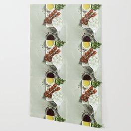 Italian antipasti snack for wine Wallpaper