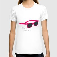 darren criss T-shirts featuring Darren Criss Glasses by byebyesally