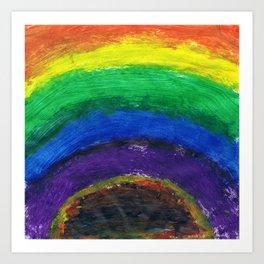 Rainboom Art Print