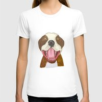 pit bull T-shirts featuring Pit Bull Pride by Kat Lyon