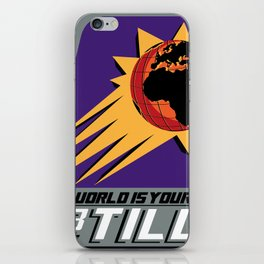 The World is Your's iPhone Skin