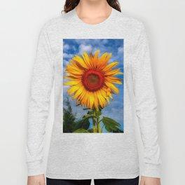 Blooming Sunflower  Long Sleeve T-shirt