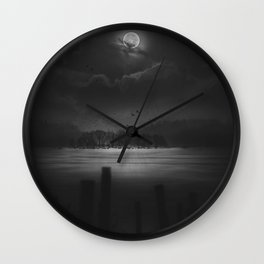 Rikers Island Wall Clock