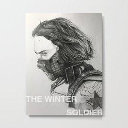 The Winter Soldier (sketch) Metal Print