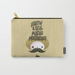 macho mostacho  Carry-All Pouch
