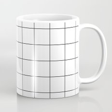 White Grid  /// www.pencilmeinstationery.com Mug