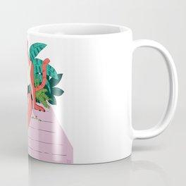 Big Buff Cat Girlfriend Coffee Mug