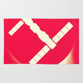 Tiangong-2 China Space Station art. Rug