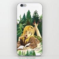 laura palmer iPhone & iPod Skins featuring Twin Peaks Secret Diary of Laura Palmer by Lindsey Caneso