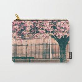 Paris cherry blossoms Carry-All Pouch