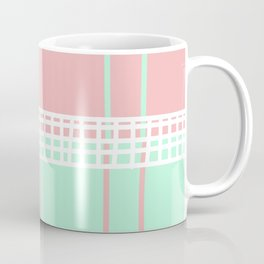 Postmodern Tennis Court Coffee Mug