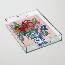 Australian Native Bouquet of Flowers after Matisse Acrylic Tray