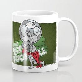 the god of football Coffee Mug