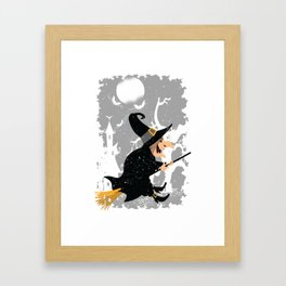 Witch Framed Art Print