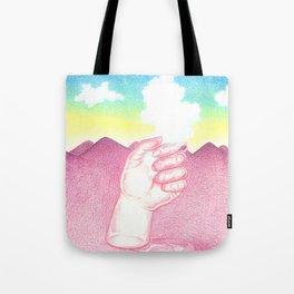 La Main et le Nuage Tote Bag