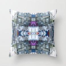 colour detector Throw Pillow