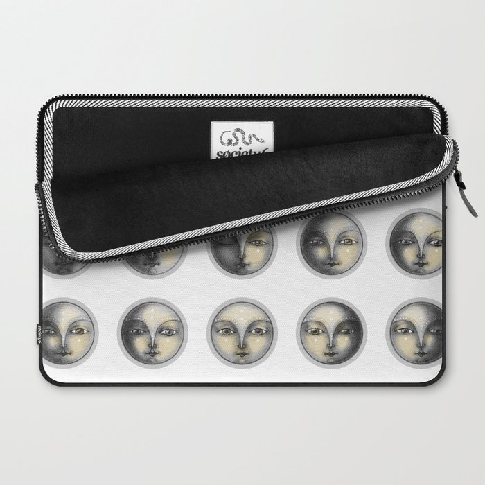 moon phases and romanticism Laptop Sleeve
