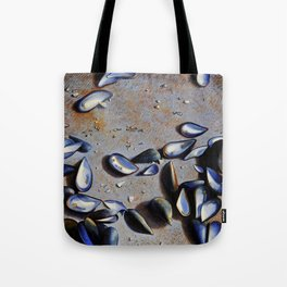 Moules on the rock Tote Bag