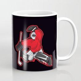illustration of ice hockey goalie Coffee Mug