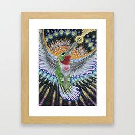 Beija Flor Framed Art Print