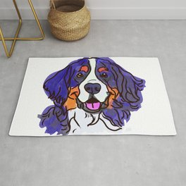 the Bernese Mountain Dog love of my life! Rug