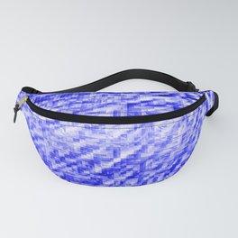 Blue Pixel Wind Fanny Pack