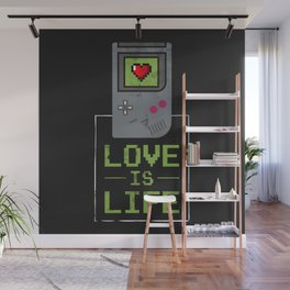 Love is Life Wall Mural