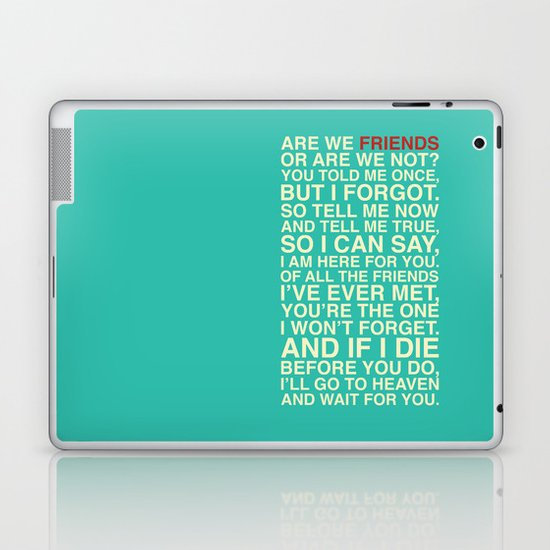 Friends Laptop & iPad Skin