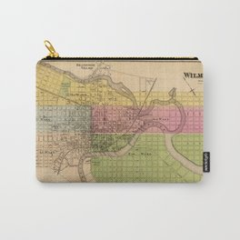 Map of Wilmington 1868 Carry-All Pouch