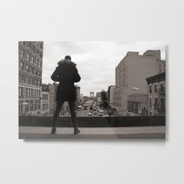 Hipster conquest of Harlem, 2013 Metal Print