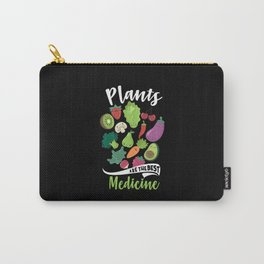 plants are the best medicine Vegetarian Gifts Carry-All Pouch