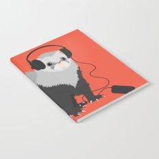 Music Loving Ferret Notebook