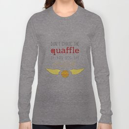 quaffle and snitch Long Sleeve T-shirt