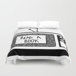 READ A BOOK Duvet Cover
