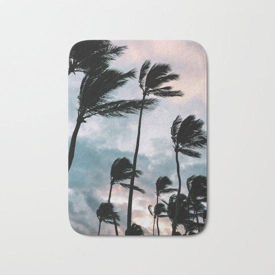 Palm trees, Bavaro beach Bath Mat