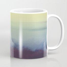Coastal Landscape Abstract Coffee Mug