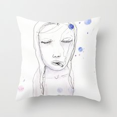 Blocked Throw Pillow