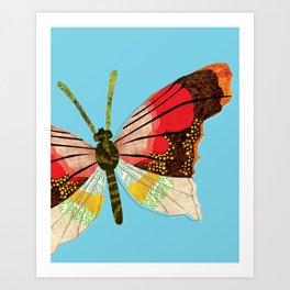 Butterfly art print Art Print