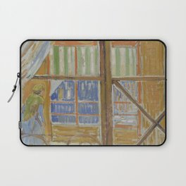 View of a Butcher's Shop Laptop Sleeve