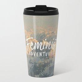 Feminist Adventurer Travel Mug