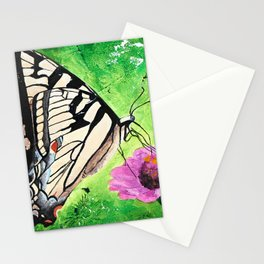 Butterfly - Morning light - by LiliFlore Stationery Cards