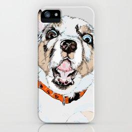 #inktober2016:scared iPhone Case