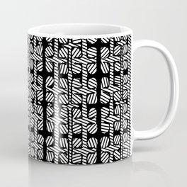 Black White design pattern Coffee Mug