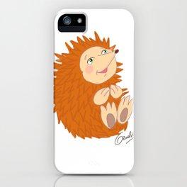 Baby Hedgehog iPhone Case