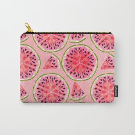 pink watermelon pattern Carry-All Pouch