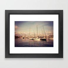 Port Vell Barcelona Spain Framed Art Print