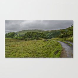 Road to Staveley in the Lake District Canvas Print