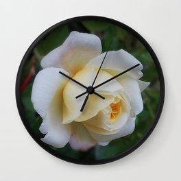 Tiny Rose Wall Clock