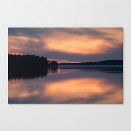 the magic lake Canvas Print